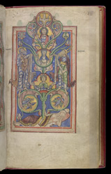Tree of Jesse, in the 'Shaftesbury Psalter'